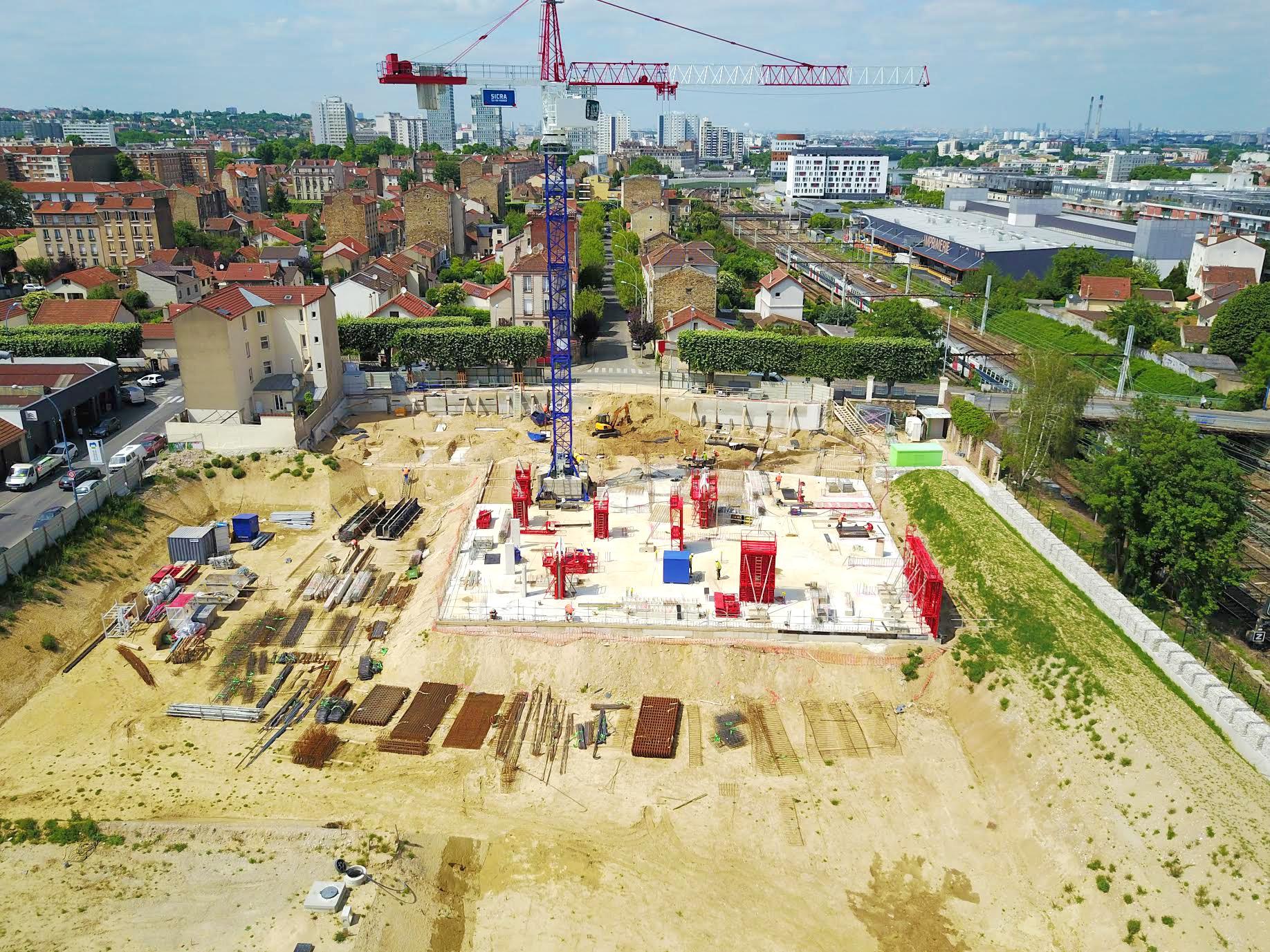 site industriel Fonderie Fine à Choisy-le-Roi